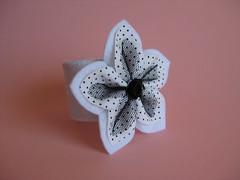 Napkin Holder (ONE by one) Tags: white handmade napkinholder fuxico onebyone