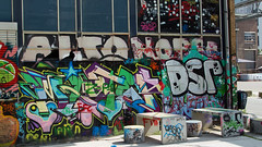 Graffiti Strijp S 030 (Martijn A) Tags: grafitti art street spraycan tag piece strijp s eindhoven urban colour color life city streetlife outdoor urbanlife no snobs vandal legal noordbrabant netherlands summer july 2016 040 philips sunny canon eos sigma brabant gekste nederland dutch streetart streetview beauty writers europe freedom europa dsr alto wwwgevoeligeplatennl