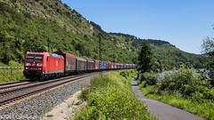 185 045 on daily GA 52824 car parts train to Braunschweig (37001 overseas) Tags: maintal gambach ga 52824 ingolstadt braunschweig 185045 1850452 db dbcargo dbschenker