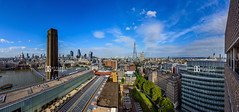 Open Viewing Terrace, Switch House, Tate Modern, London, UK (davidgutierrez.co.uk) Tags: london architecture city photography davidgutierrezphotography nikond810 nikon art urban color londonphotographer panorama pano skyline uk tatemodern tate herzogdemeuron photographer buildings england unitedkingdom  londyn    londres londra europe beautiful cityscape davidgutierrez capital structure britain greatbritain d810 building street modernartgallery switchhouse travel ultrawideangle afsnikkor1424mmf28ged 1424mm colour openviewingterrace 360 londonskyline riverthames stpaulscathedral theshard millenniumbridge theleadenhallbuilding 20fenchurchstreet walkietalkie p canarywharf