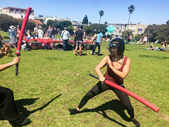 IMG_1232 (khwken) Tags: axion sword swordsmanship fitness cardio martial arts detox sf doreles foam foamsword