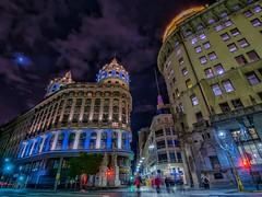 Buenos Aires (karinavera) Tags: street city longexposure travel urban argentina night buenosaires downtown florida avenue financial microcentro nikond5300