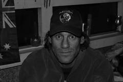 I am Tony..... (tracyevans3558) Tags: man streets sad homeless australia melbourne tony cap hungry bulldogs vagrant