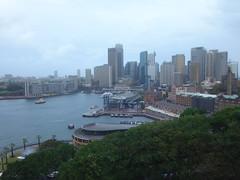 Vistas desde Harbour bridge, vieja torre del reloj y moderna zona financiera. Sidney. Nueva Gales del Sur. Australia (escandio) Tags: australia sidney 2016 nuevagalesdelsur