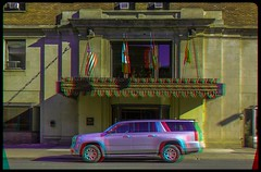 Hotel in Thunder Bay, Ontario 3-D ::: HDR/Raw Anaglyph Stereoscopy (Stereotron) Tags: urban ontario canada architecture america radio canon eos hotel stereoscopic stereophoto stereophotography 3d downtown raw control north citylife streetphotography kitlens twin anaglyph flags stereo stereoview remote spatial 1855mm hdr province thunderbay redgreen 3dglasses hdri transmitter stereoscopy synch lakehead tbay anaglyphic optimized in threedimensional stereo3d cr2 stereophotograph anabuilder synchron redcyan 3rddimension 3dimage tonemapping 3dphoto 550d stereophotomaker 3dstereo 3dpicture anaglyph3d yongnuo stereotron thelakehead canadasgatewaytothewest