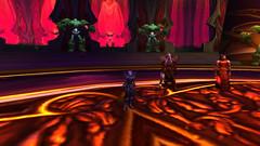 Restoring the ancient sword (aquahoof) Tags: worldofwarcraft dragonblightpverealm enyaria deathknight bloodelf aquahoof shaman tauren legacy raids dungeons