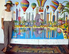 groe bunte naive Gemlde zum Verkauf (iloveart106) Tags: large colorful naive paintings for sale           grose bunte gemlde zum verkauf grandi dipinti naif colorate per la vendita