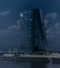 the colossus of Frankfurt (perceptions (off)) Tags: ecb exlab frankfurt architecture