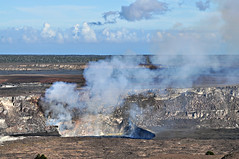Halema'uma'u, Daytime View (River Wanderer) Tags: kilauea halemaumau volcano hawaiivolcanoesnationalpark summit crater caldera