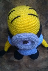 Minion Stuart (Pequena do Sol) Tags: crochê amigurumi minion