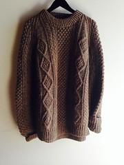 Fisherman wool sweater (Mytwist) Tags: streetscenevintage street scene vintage wool fashion fetish sweatergirl irish aranstyle style sweaters jumper pullover