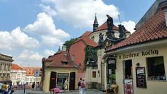 Gate of Strahov monastery in Prague, Czech Republic. July 22, 2016 (Vadiroma) Tags: strahovmonastery gate city capital prague praha czech esko europe summer 2016
