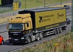 OU65 RVK. (James Power's Lorry Photo's.) Tags: ou65rvk jack moody logistics a45 birmingham man