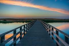 Crossing (hammockbuddy) Tags: ifttt 500px landscape sunset nature bridge portugal algarve photograph albufeira pr do sol madness herdade dos salgados lagoa