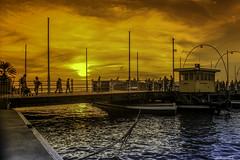 Caribbean Colors (Bernai Velarde-Light Seeker) Tags: curacao caribbean atalanticocean oceanoatlantico bernai velarde bridge puente sunset atardecer