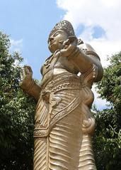 Bodhisattva Maithri (IMG_2196b) (Dennis Candy) Tags: srilanka ceylon serendip serendib kelaniya solosmasthana buddhism buddha religion culture tradition heritage beauty holy sacred temple statue bodhisattva bodhisatta maithri buddhatobe golden huge large
