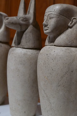 Image in stone (cerebellah) Tags: egyptian urn templeplace london exhibition