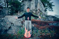 Joshua Young 2016 (hal04293) Tags: music art bass guitar massachusetts artist jazz ibanez