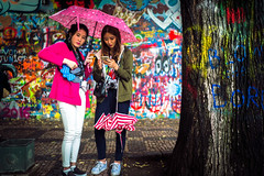 Colored Tribute (tomabenz) Tags: sony a7rm2 urban prague candid people umbrella czechrepublic streetview street photography europe praga praha sonya7rm2 streetphotography