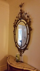 Mirror (Terry Hassan) Tags: usa florida miami palmbeach flaglermuseum whitehall mansion museum mirror display exhibit