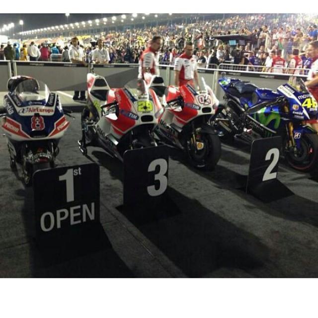 Open.  Open.  Open.  Factory.   #MOTOGP #QatarGP