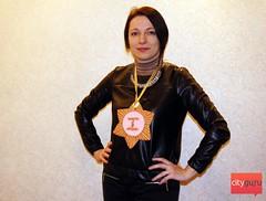 Вручение приза победителю конкурса на CityGu.ru