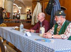 Bavarians (ArweBar) Tags: people beer germany munich münchen bavaria cerveza monaco bier birra baviere krug bavarian baviera bayer hofbräuhaus ef1635 flickrelite canoneos1dsmarkiii 1dsmarkiii tonkrug