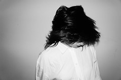 . (Valentina De Lisio) Tags: portrait blackandwhite bw selfportrait blackwhite bianconero biancoenero