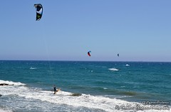 Windsurfing at Amathusa (@CyprusPictures) Tags: waves kitesurfing windsurfing windsurfer beachscenes cypruspictures cyprusbeaches thulbornchapmanphotography