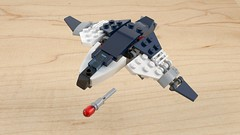 Quinjet (mecabricks) Tags: lego blender cad cycles mecabricks