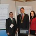 Showtel Enda Larkin & Helen Daly, Dobiquity and Stephen McNally, IHF President