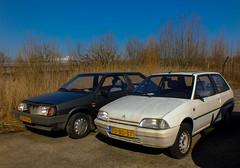 Citroën Ax & Lada Samara (peterolthof) Tags: citroën ax lada samara peterolthof