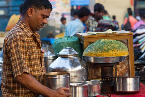 Pani Poori Street Food, Dharavi