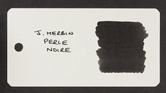 J. Herbin Perle Noire - Word Card