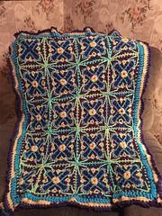 Debbie McGee Fisher (The Crochet Crowd) Tags: crochet mikey cal divadan crochetalong yarnspirations cathycunningham thecrochetcrowd michaelsellick danielzondervan freeafghanpattern mysteryafghancrochetalong freeafghanvideo caronsimplysoftyarn