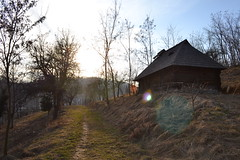 DSC_0944 (marcutib) Tags: wood old house museum architecture traditional rustic un monastery romania brancusi cula ploiesti olt greceanu manastirea lemn arhitectura dintr