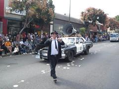 Joliet Jake Blues at the 2014 Doo Dah Parade (Robb Wilson) Tags: pasadena doodahparade bluesmobile thebluesbrothers jakeblues freephotos 2014doodahparade