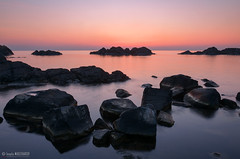 Black Sea (Ivaylo Madzharov - Pictures from Bulgaria) Tags: sea seascape nature water rock sunrise bulgaria