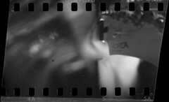 Pacifica pinhole (Skink74) Tags: longexposure blackandwhite bw music playing mono guitar pinhole yamaha musicalinstrument pacifica ilford fp4 ilfordfp4plus pinholeday wppd worldwidepinholephotographyday sprocketholes