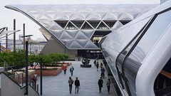Canary Wharf Crossrail Station (McTumshie) Tags: england london station unitedkingdom canarywharf londonist crossrail 2may2015 crossrailplace