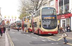 Is anything coming? (Lost-Albion) Tags: volvo brighton wright trafficjam congestion 411 brightonhove bj11xhm