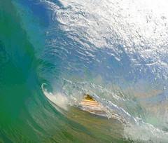 breaking wave (bluewavechris) Tags: ocean sea beach water fun hawaii action barrel wave maui lip curl swell trigger bigbeach knekt gopro oneloa