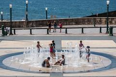 Jeux d'Eau - Old San Juan - [Puerto Rico] (Old Jhack) Tags: children oldsanjuan puertorico caribbean enfants fontaine carabes jeux portorico sigma1750mmf28