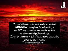 1 Thessalonians 5:9-11 (pastorjoshmw) Tags: bible scripture thessalonians 5911 i calltoworship 1thessalonians5911 i1thessalonians5911