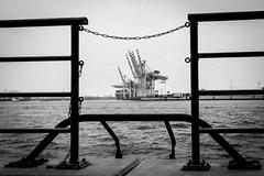 Hafen Hamburg (TS_1000) Tags: sony hamburg sw hafen kran elbe rahmen kste gelnder krne
