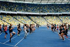 Nike Run Club Kyiv, NTC training (the joyrider) Tags: nike running nrc ntc ukraine kyiv club training film kodak 35mm