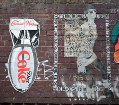 Streetart (Bjrn O) Tags: streetart berlin friedrichshain xberg kreuzberg raw rawgelnde revalerstrase revaler politik coke cocacola dietcoke politics