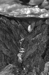 Yellowstone canyon falls (Paul Simon Benoit) Tags: yellowstone