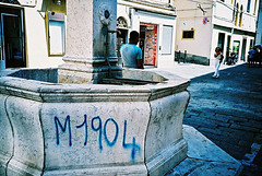 M1904 (Stephen Dowling) Tags: travel summer italy film 35mm xpro lomography crossprocessed sanremo cosinacx2 agfact100precisa