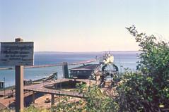 Ausfahrt Fhre in Sassnitz 1971 (Corno3) Tags: fhre hafen rgen ddr sassnitz ostsee mecklenburgvorpommern deutschland de